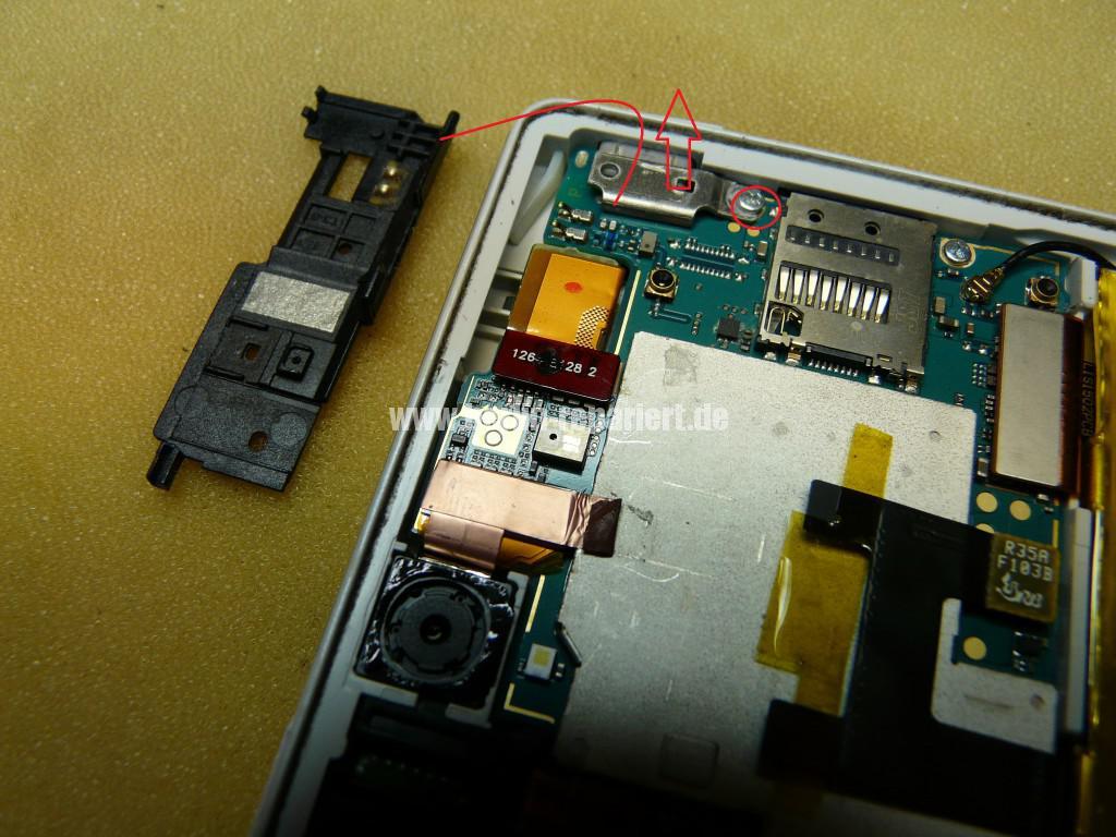 Sony Xperia Z3 Flüssigkeitschaden (7)
