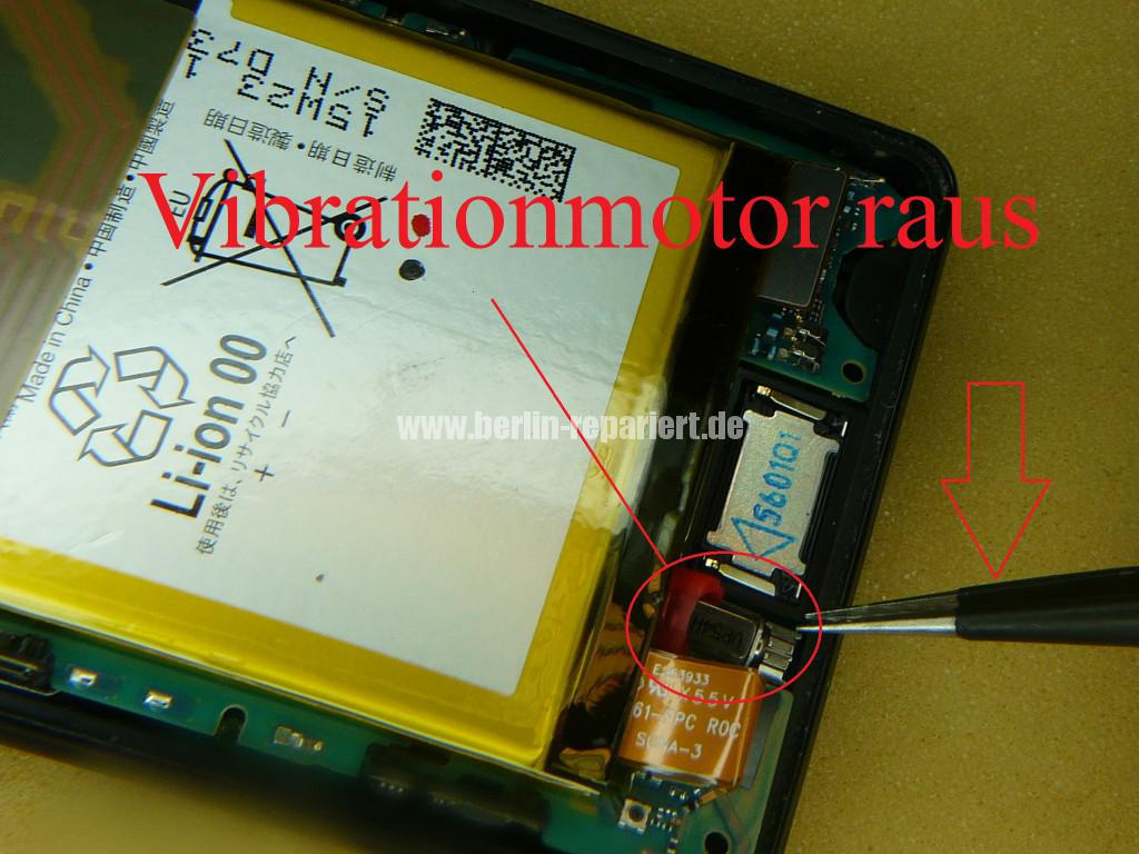 Sony Xperia Z3, LCD Display Defekt, umbau Black Orange (11)
