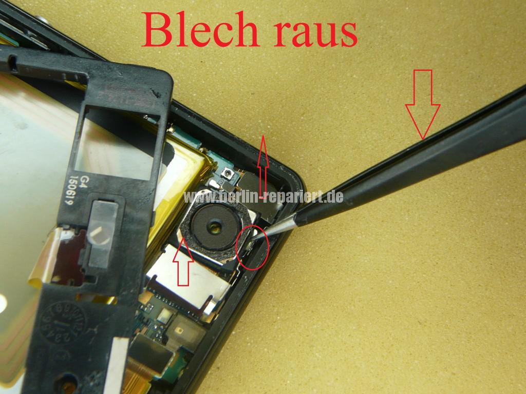 Sony Xperia Z3, LCD Display Defekt, umbau Black Orange (9)