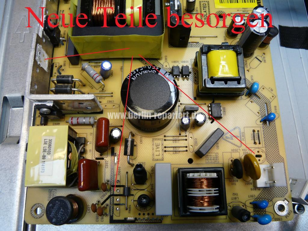 Telefunken T40R906, keine Funktion, Netzteil Defekt (11)