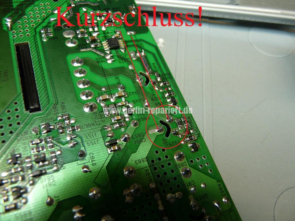 Telefunken T40R906, keine Funktion, Netzteil Defekt (9)