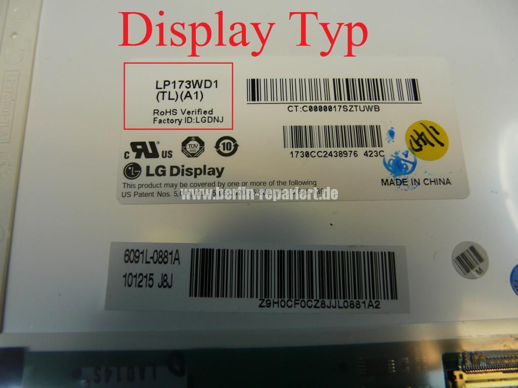 Toshiba Satellite L670, Display Defekt (7)