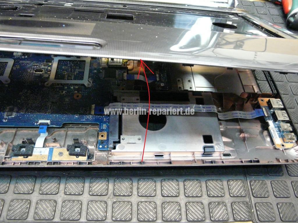 Toshiba Satellite L755, sehr langsam, Lüfter reinigen (6)