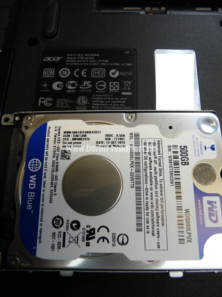 WD Blue WD5000LPVX Defekt (6)