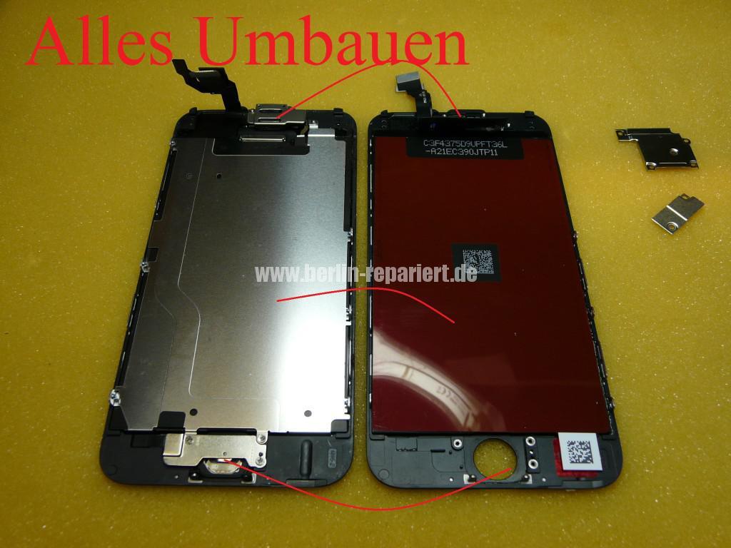 iPhone 6 Display Defekt, Reparieren (10)