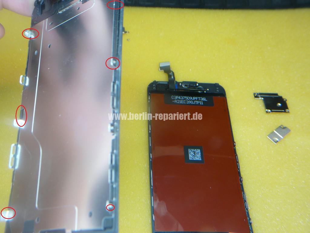 iPhone 6 Display Defekt, Reparieren (11)