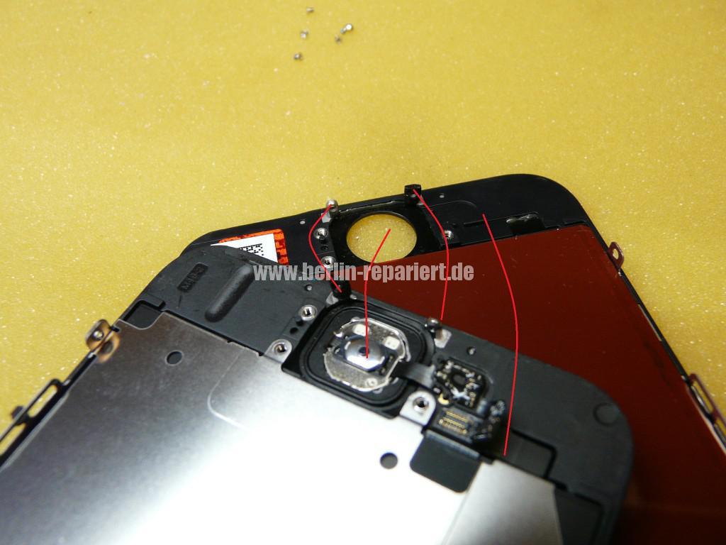 iPhone 6 Display Defekt, Reparieren (12)