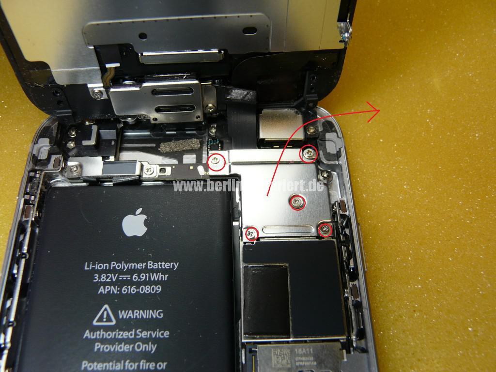 iPhone 6 Display Defekt, Reparieren (8)
