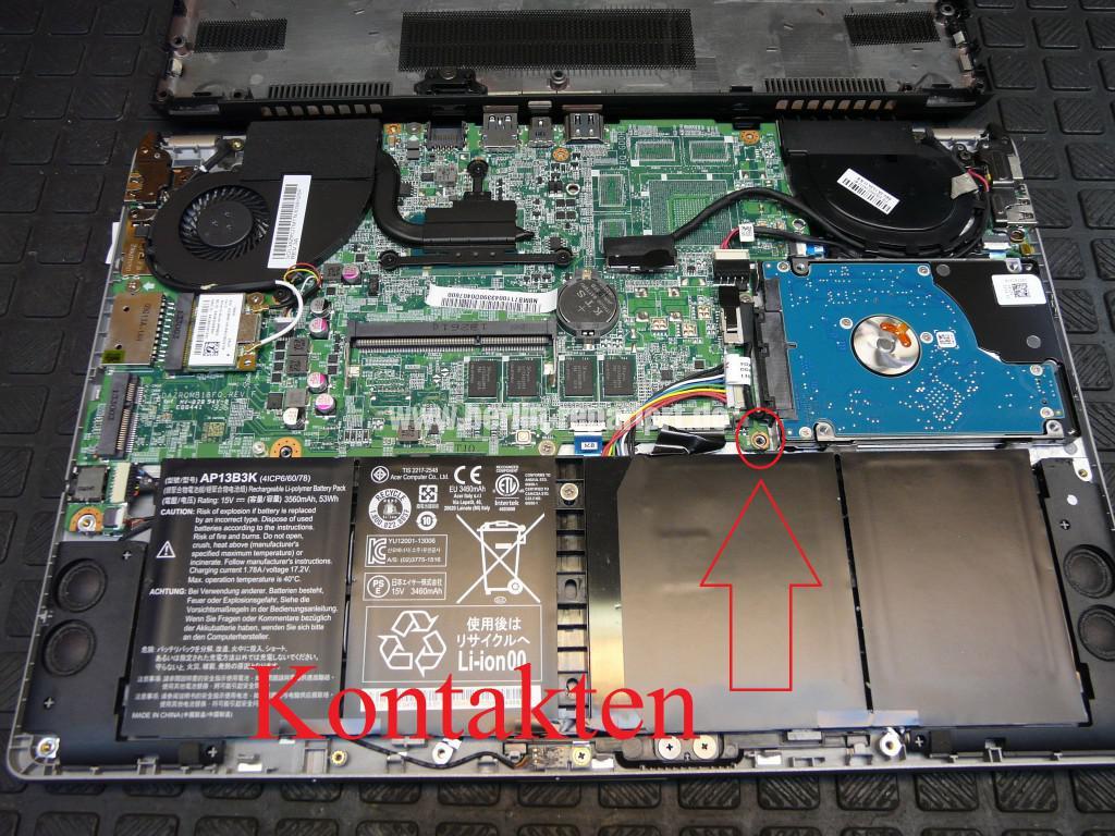Acer Aspire V5 mit defekte Seagate ST500L (5)