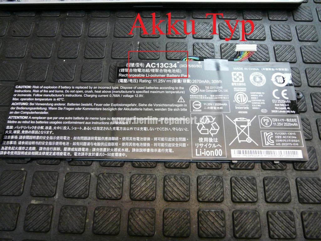 Acer Qualität E3-112 Akku Defekt (7)