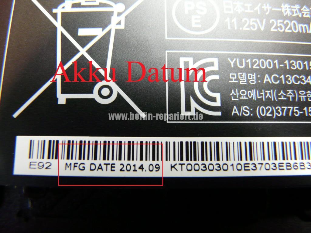 Acer Qualität E3-112 Akku Defekt (9)