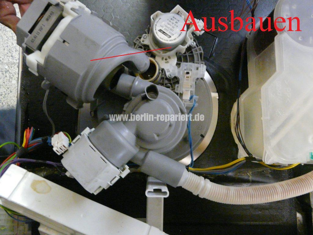 Bosch SMU50E85, Pumpe läuft nicht an, Störung (1)