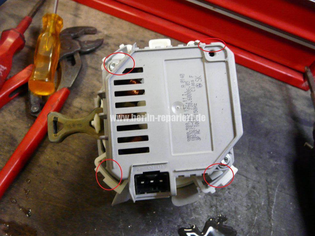 Bosch SMU50E85, Pumpe läuft nicht an, Störung (3)