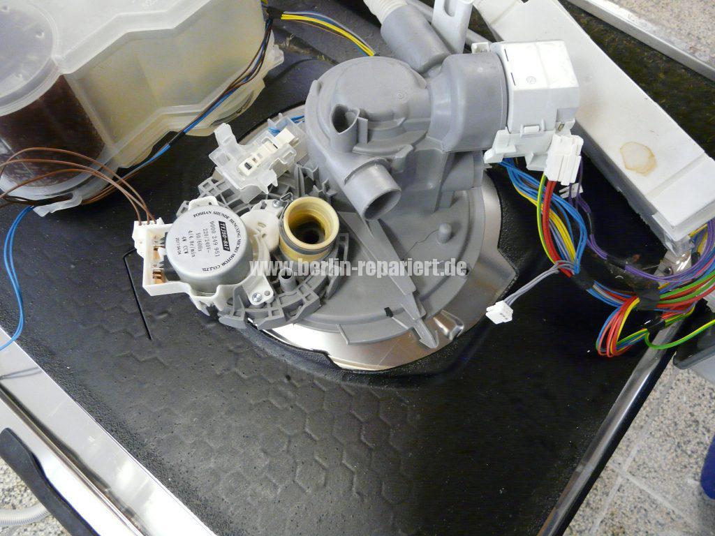 Bosch SMU50E85, Pumpe läuft nicht an, Störung (4)