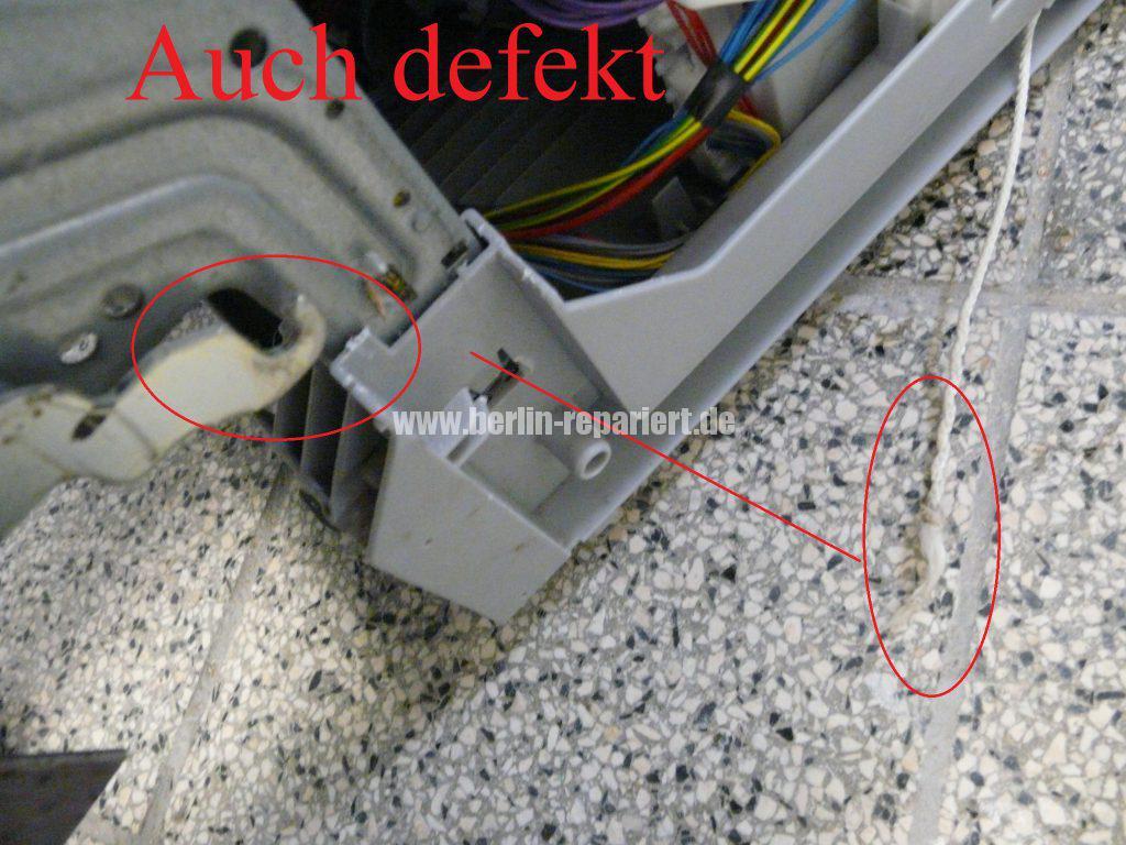 Bosch SMU50E85, Pumpe läuft nicht an, Störung (9)