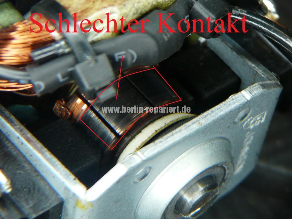 Delonghi Mahlwerk Johnson Motor U-5421, Rotor verbraucht, einfach revidieren (2)