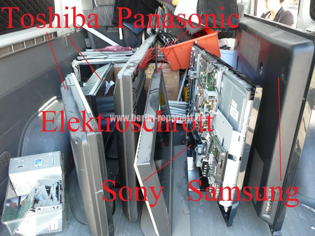Elektroschrott Panasonic Toshiba Sony Samsung  (2)