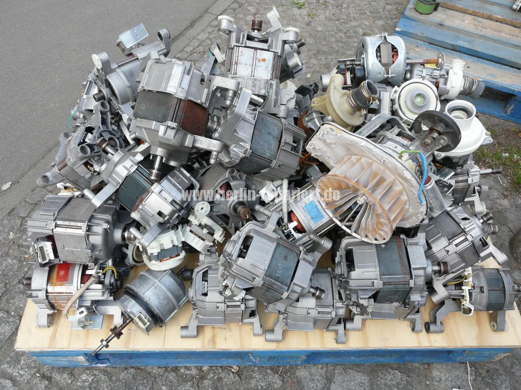Elektroschrott Waschmaschinen Motoren