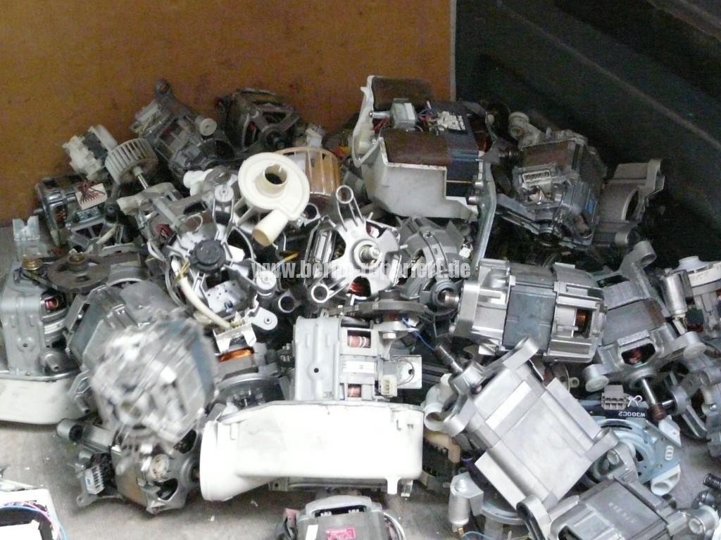 Elektroschrott Waschmaschinen Motoren (2)