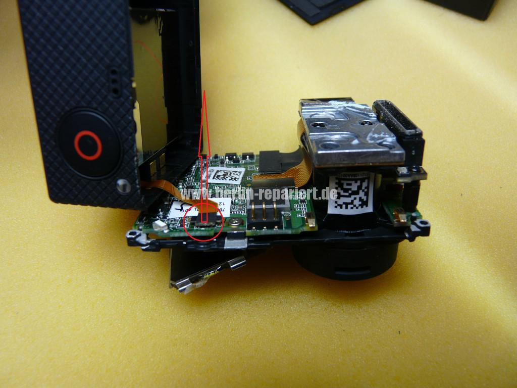 GoPro Hero 3, USB Defekt (5)