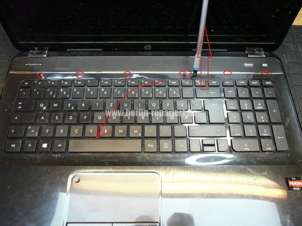 HP Pavilion G7, Tastatur defekt (6)