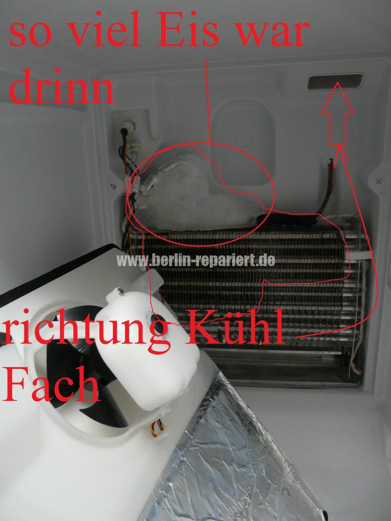 Haier CFL 633, von wegen No Frost, Kühlfach kühlt nicht (7)