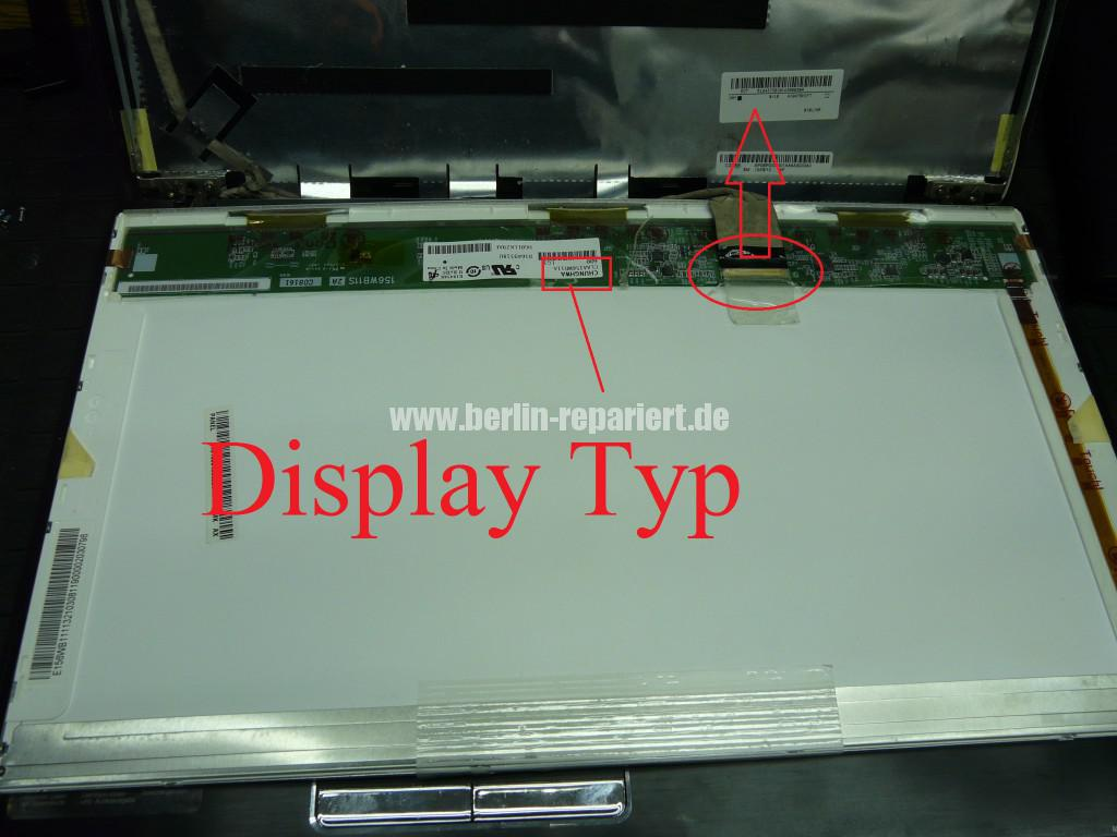 Lenovo G560, Display defekt (3)