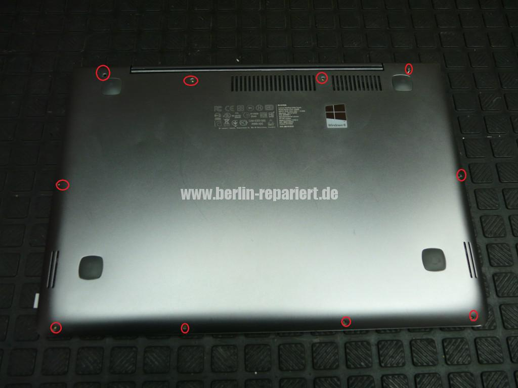 Lenovo IdeaPad U330, HDD defekt (2)