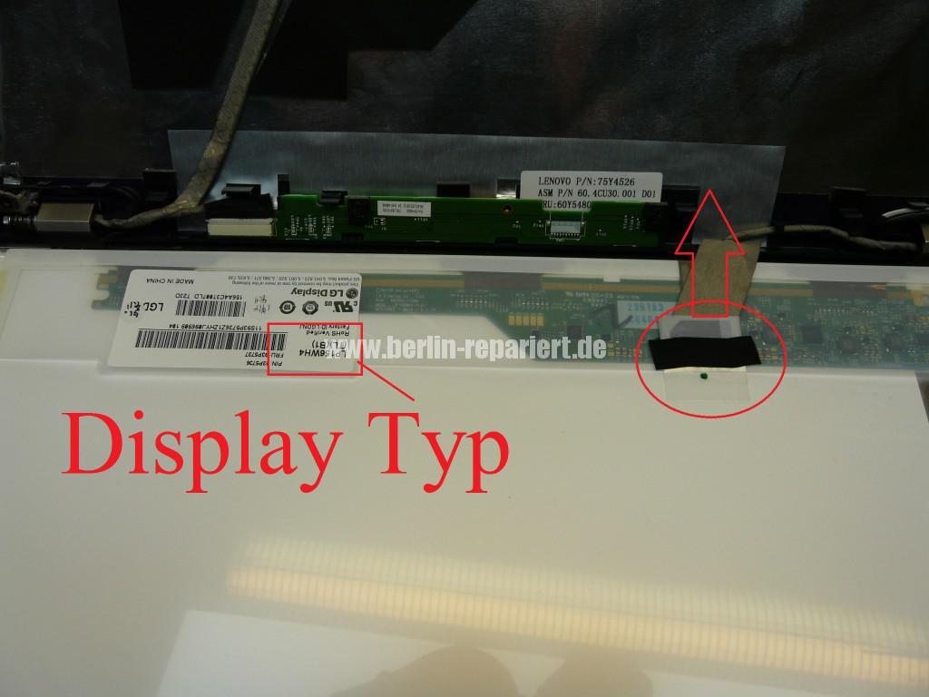 Lenovo T510 Display Defekt (6)