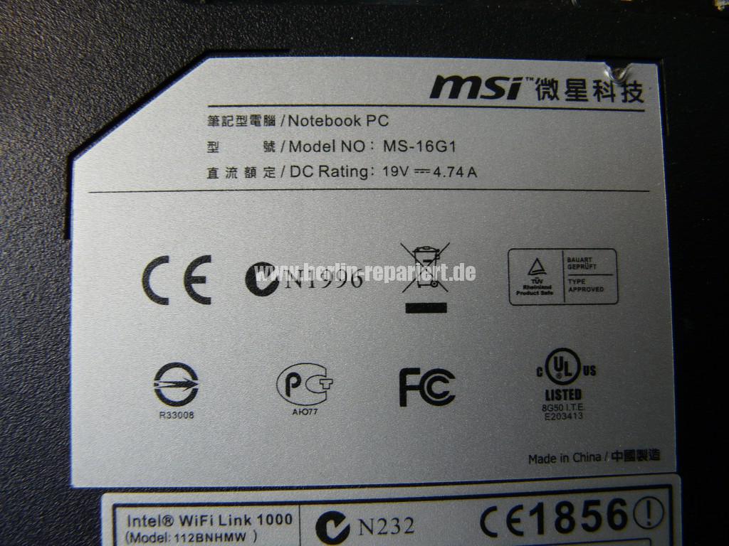MSI FX600, keine Funktion (14)