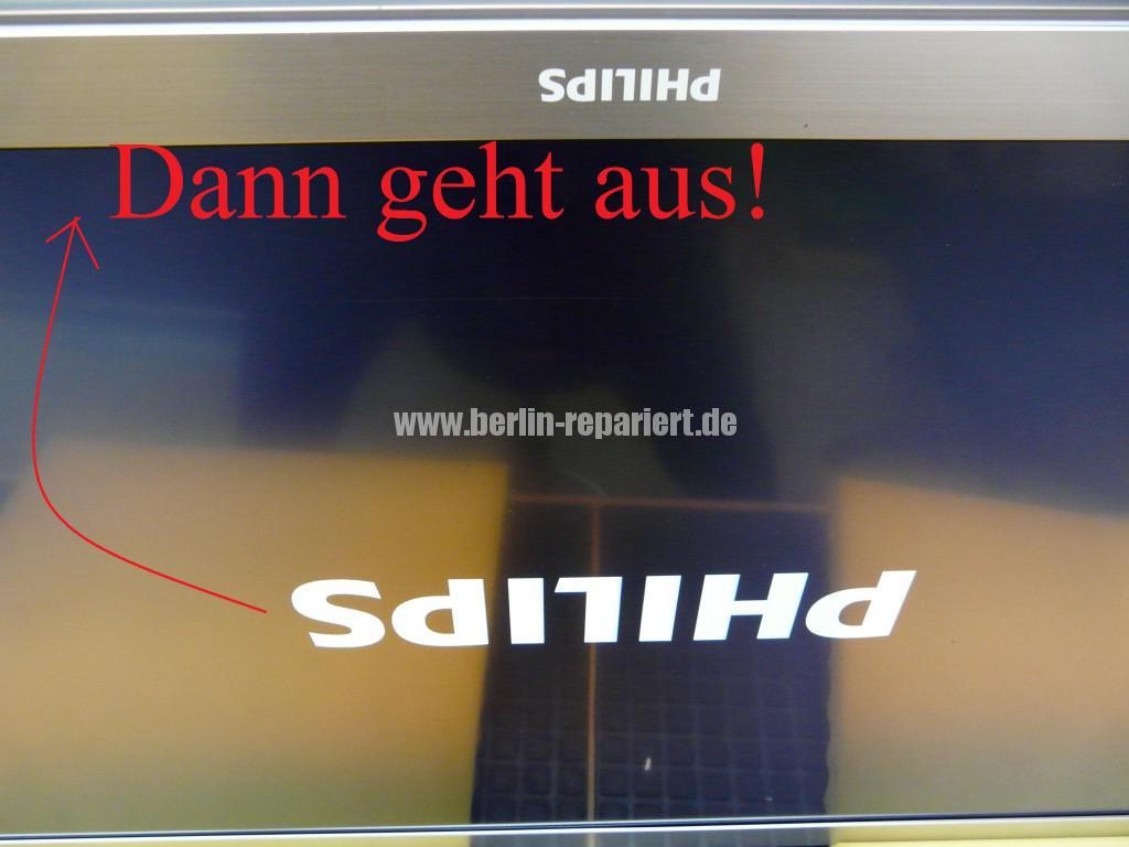 Philips 37PFL9606K02, geht an Logo kommt dann geht aus (9)