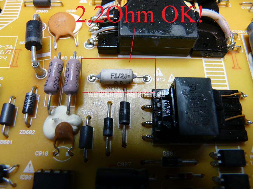 Philips 40PFL5507K, geht nicht an, keine Funktion (5)
