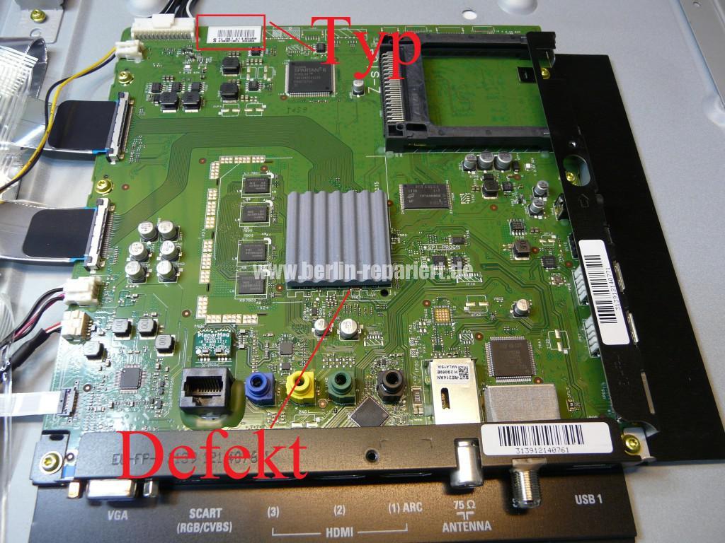 Philips 40PFL5507K, geht nicht an, keine Funktion (6)