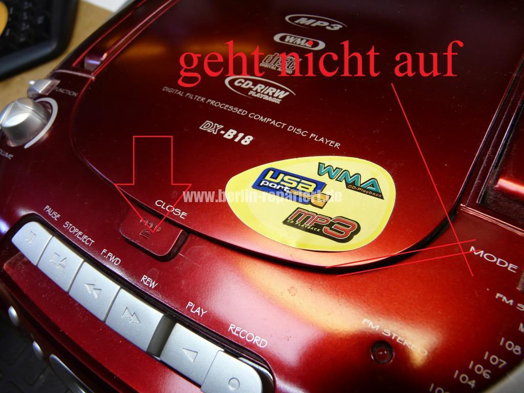 Radio CD Kass, CD Fach geht nicht auf, Antenne kaputt (2)