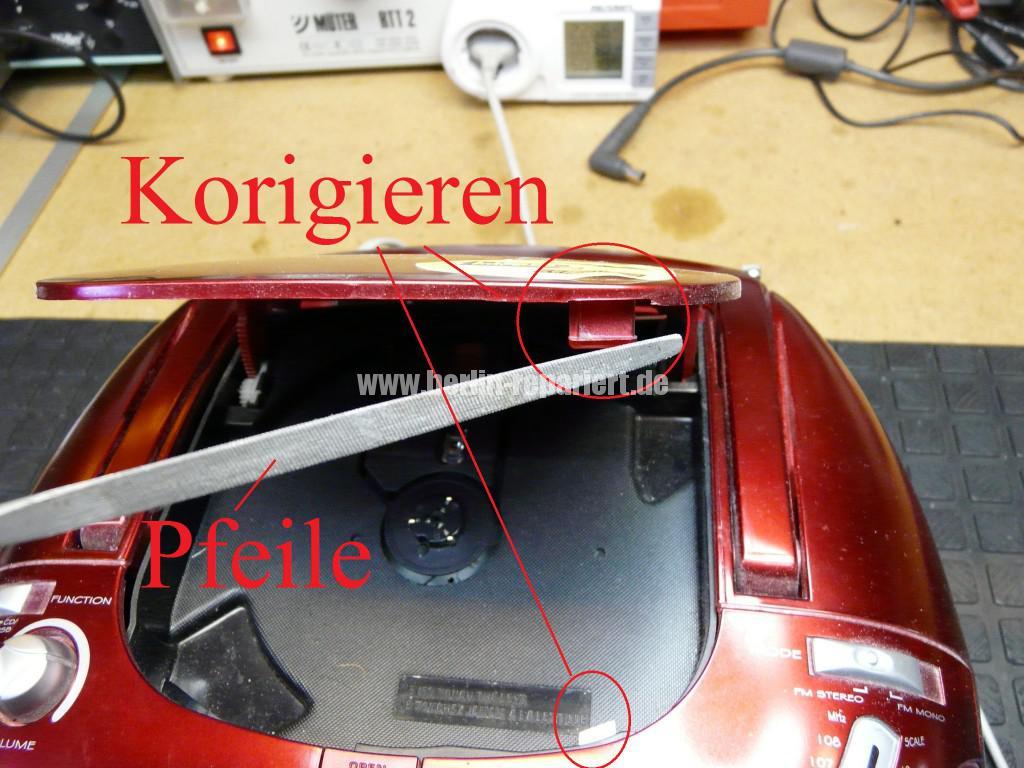 Radio CD Kass, CD Fach geht nicht auf, Antenne kaputt (4)