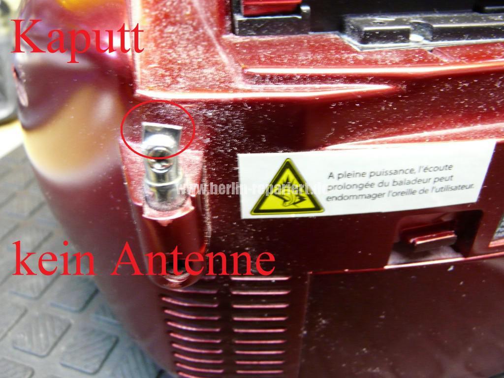 Radio CD Kass, CD Fach geht nicht auf, Antenne kaputt (8)