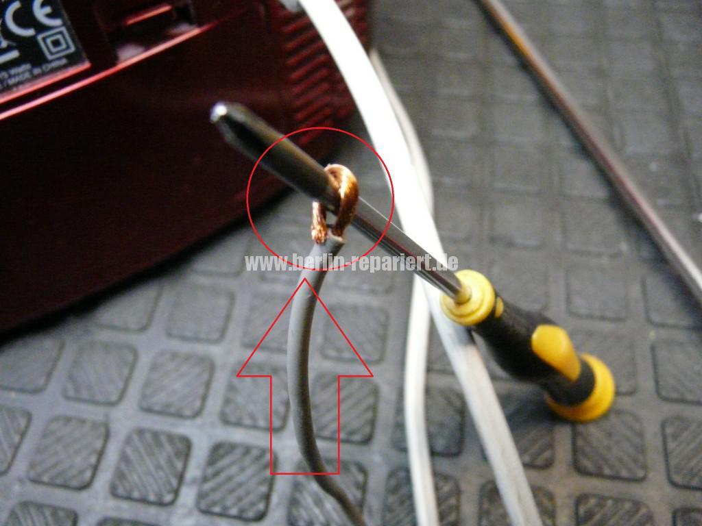 Radio CD Kass, CD Fach geht nicht auf, Antenne kaputt (9)