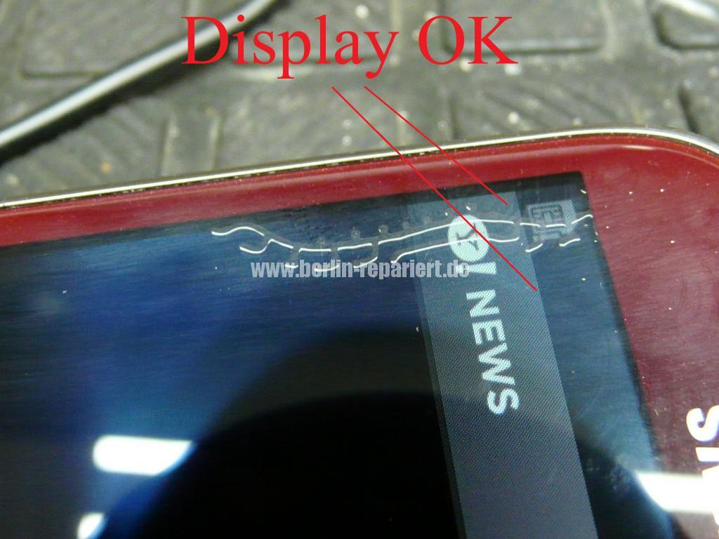 Samsung Galaxy S3 mini GT-i8190, Artefakten in Display (2)