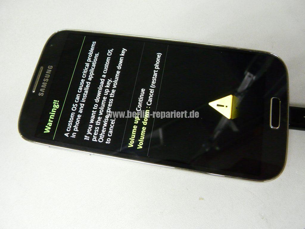 Samsung Galaxy S4, startet nicht mehr (2)