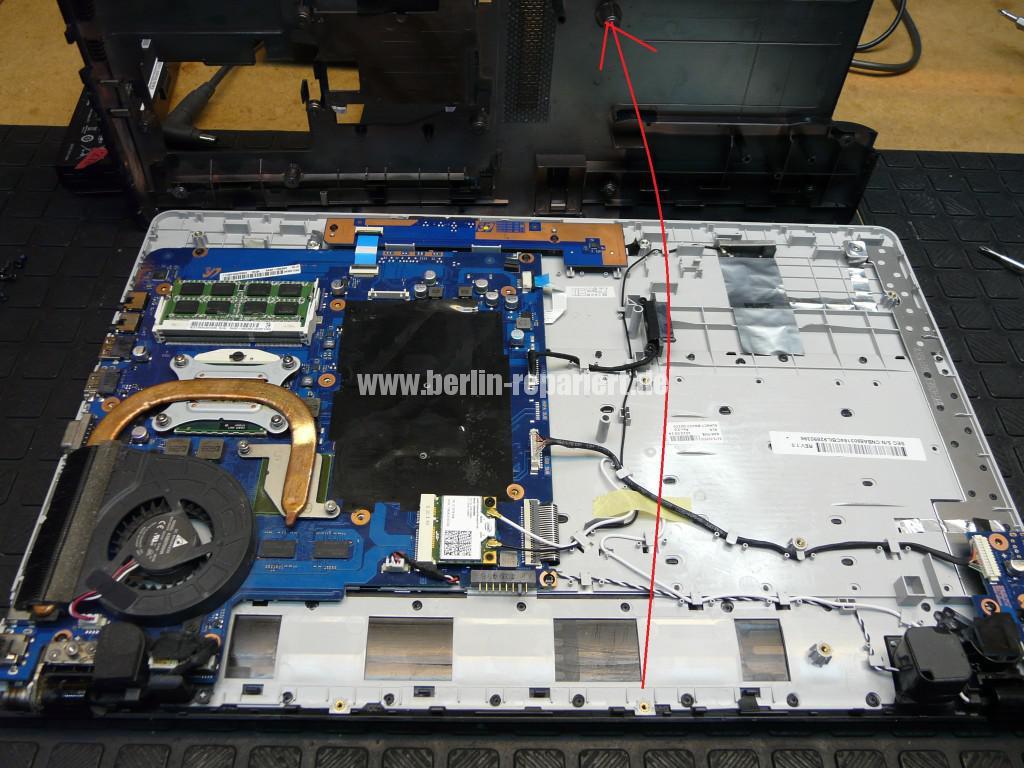 Samsung NP300E, Lüfter Defekt (3)