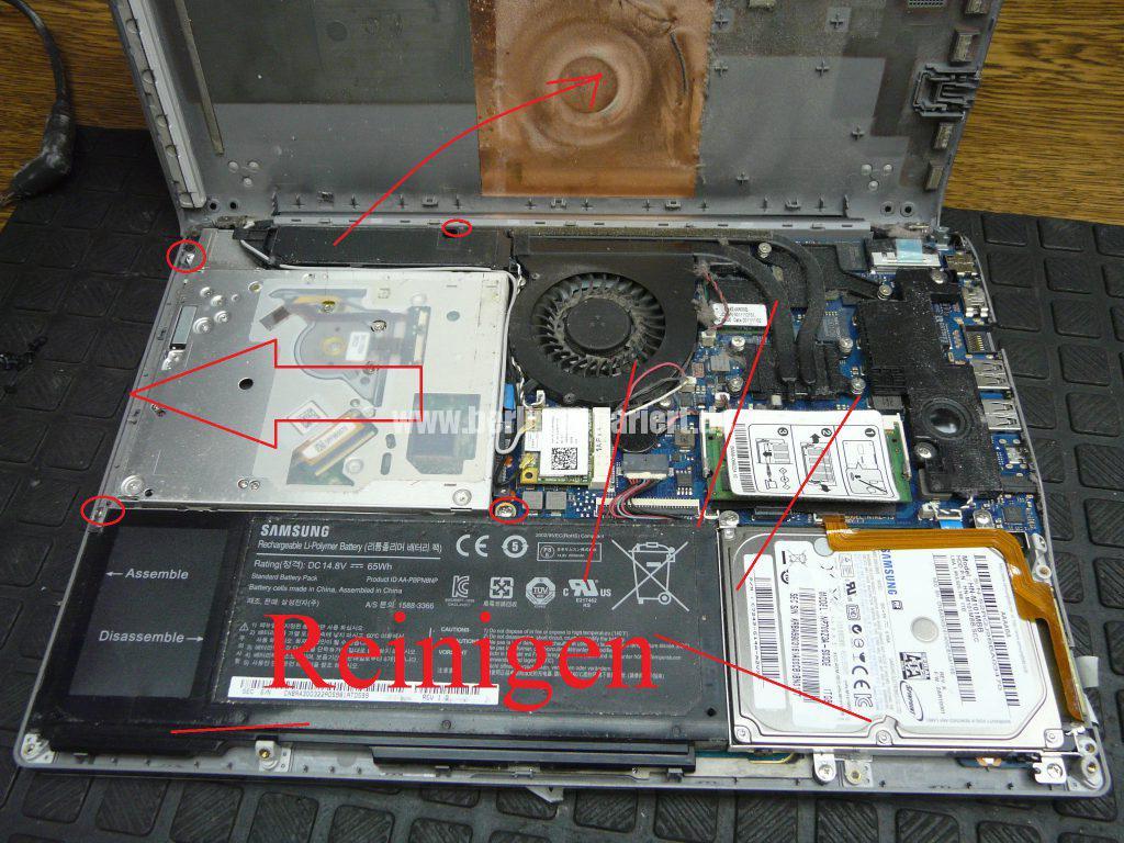 Samsung NP700Z3A, DVD Laufwerk defekt (4)
