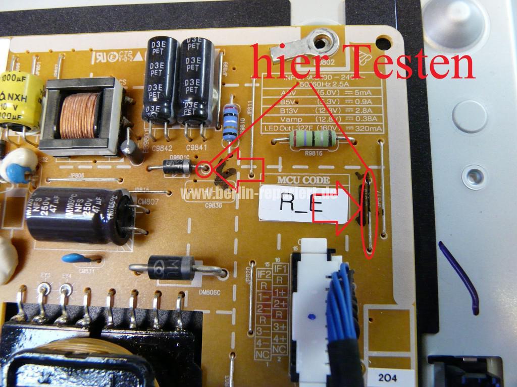 Samsung Qualität UE32F6270 kein Bild (16)