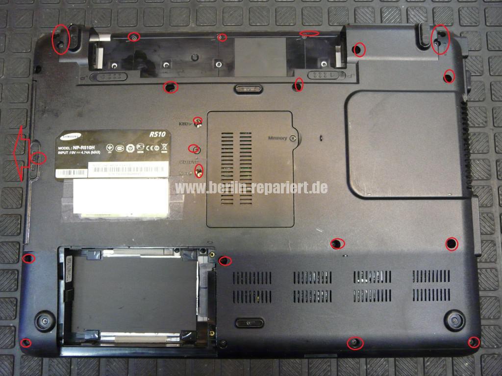Samsung R510, keine Funktion (2)