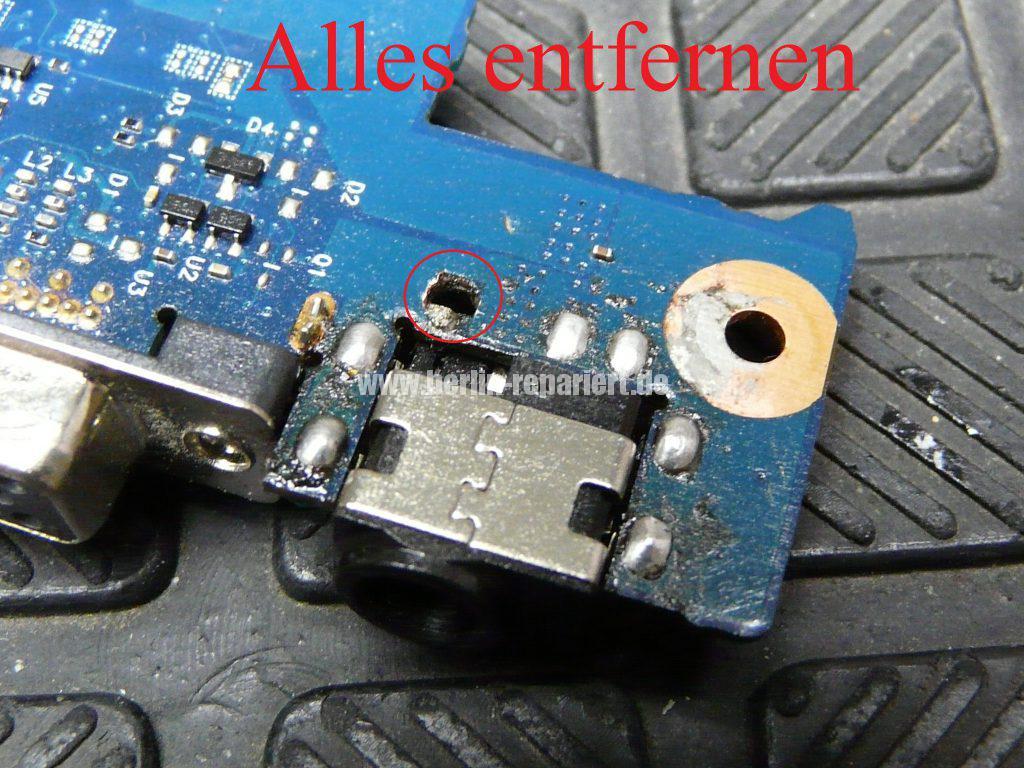 Samsung R780, Netzbuchse defekt (10)