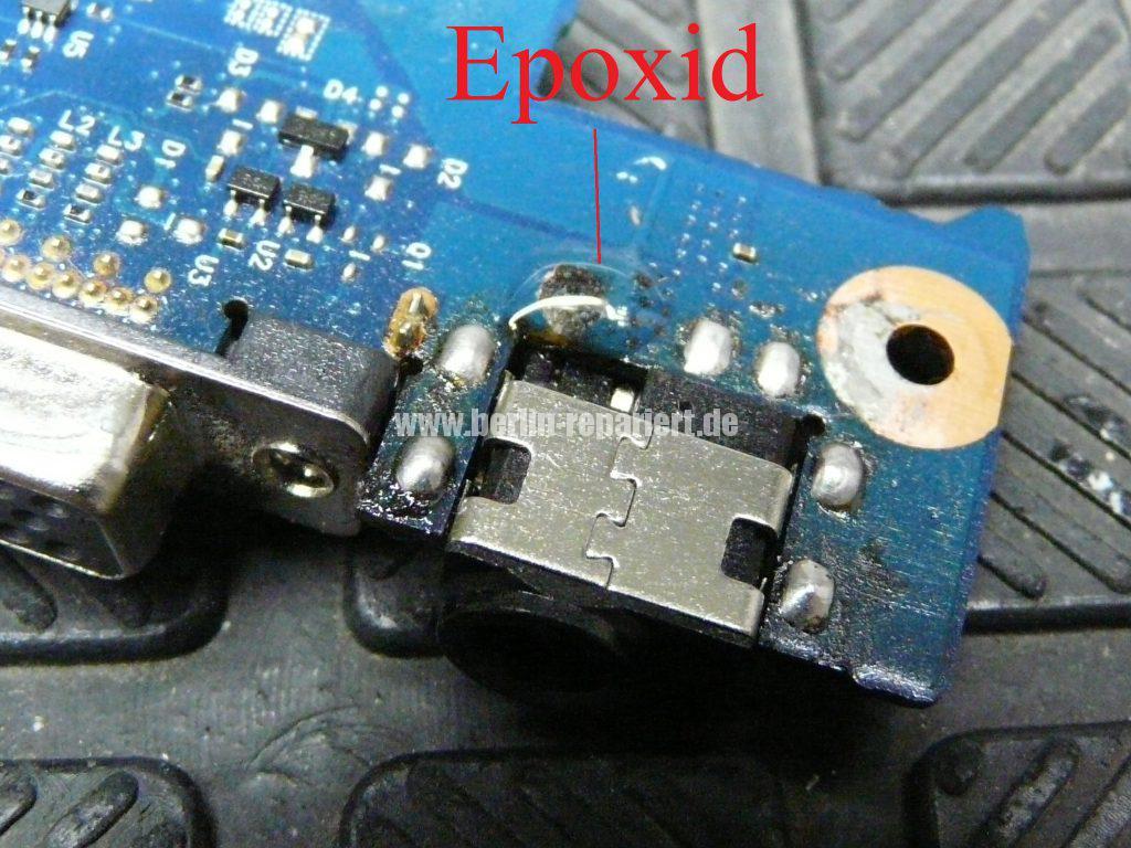 Samsung R780, Netzbuchse defekt (11)