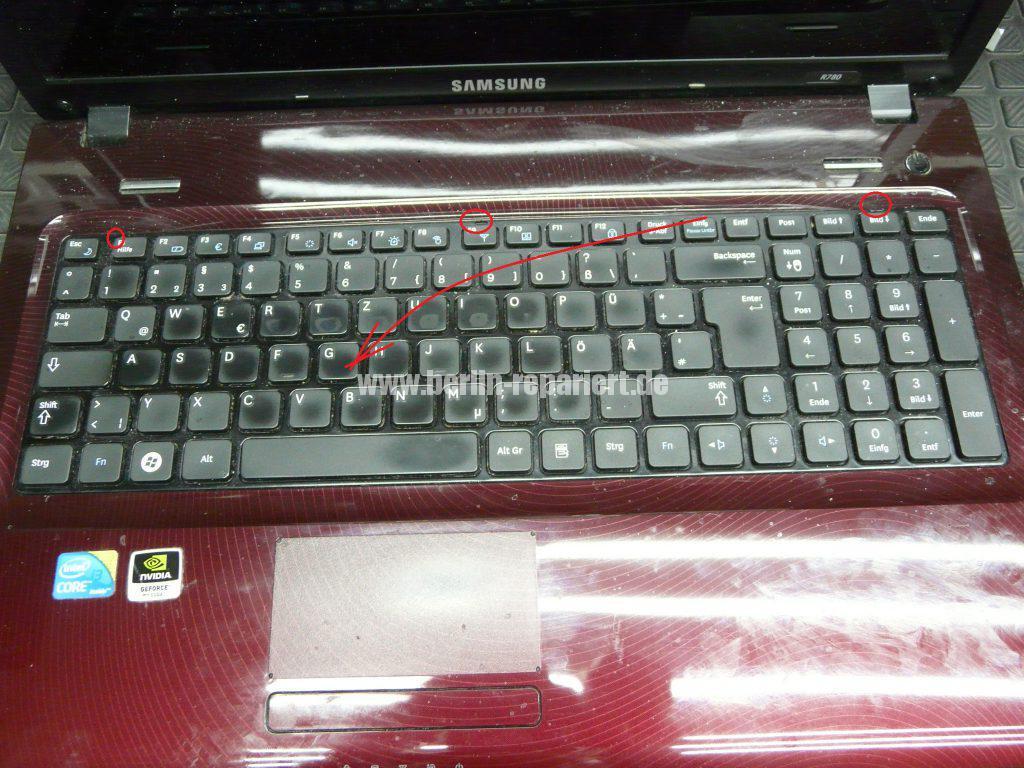 Samsung R780, Netzbuchse defekt (4)