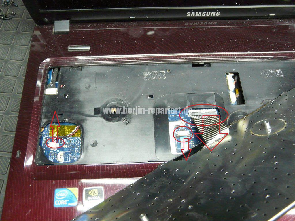 Samsung R780, Netzbuchse defekt (5)