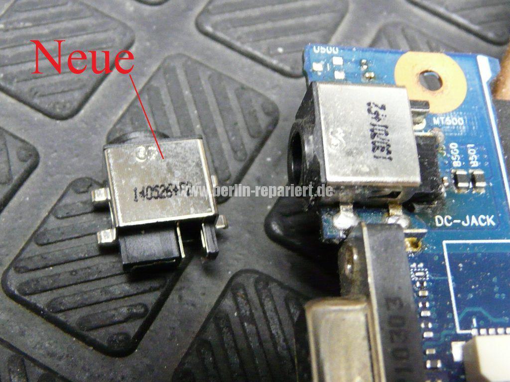 Samsung R780, Netzbuchse defekt (8)