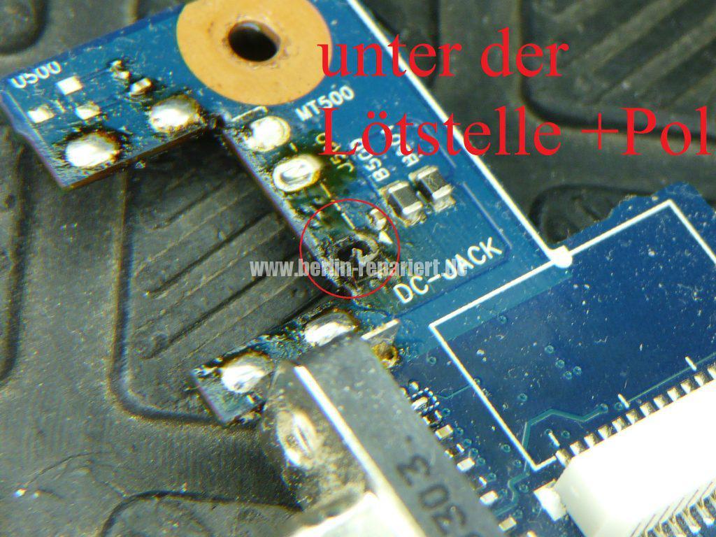 Samsung R780, Netzbuchse defekt (9)