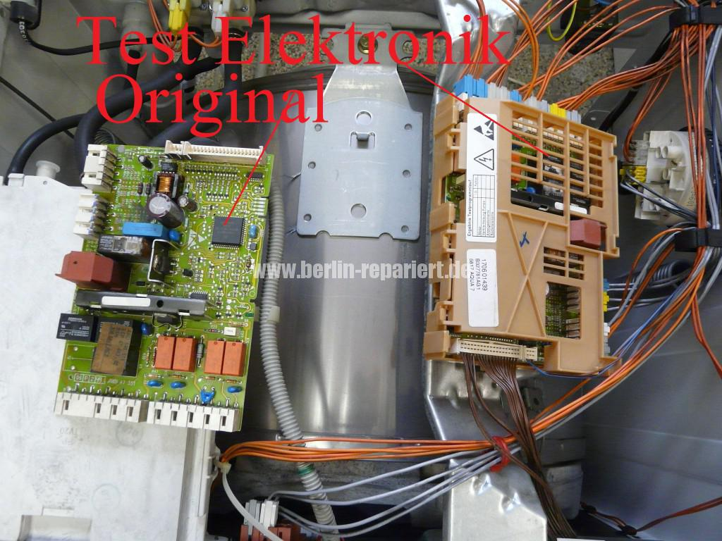 Siemens Siwamat 6102, Motor dreht schwer (2)